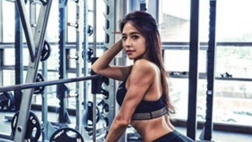 越南美女健身教练,娉婷袅娜,被学员称作最受欢迎的身材!