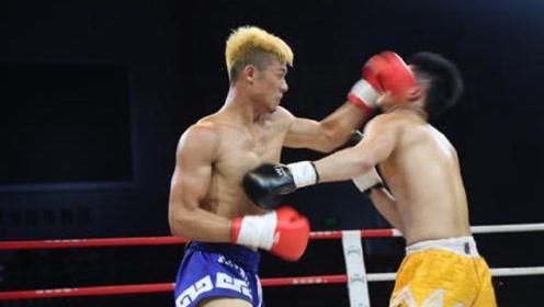 日本猛人惨遭对手暴击,拳拳打脸,毫不留情!
