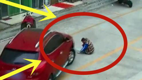 无辜孩子惨遭女司机碾压,路人奋力救出,下秒却更是猪狗不如!