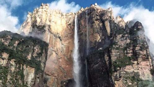 地球上落差最大的瀑布,犹如一道飞虹让人惊艳,有条件一定要去看