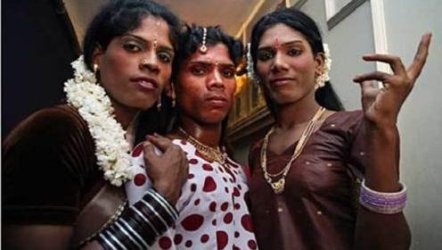 印度人妖VS泰国人妖,一个养眼一个瞎眼,网友:都能用来辟邪了
