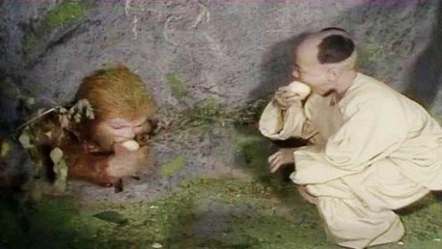 孙悟空压在五行山下500年,为何只有送桃子的小孩,他是谁变的