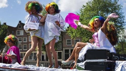 遍地都是帅哥美女的荷兰,社会风气有多开放?看完感到不可思议