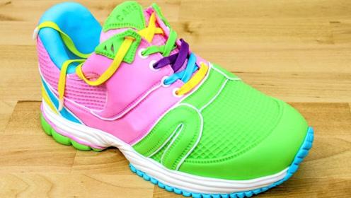 """能吃的""""运动鞋"""",谁想出来的创意,太有才了"""