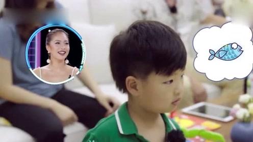凌潇肃嘴对嘴亲吻4岁儿子,唐一菲脱口6个字,网友:是个好老婆
