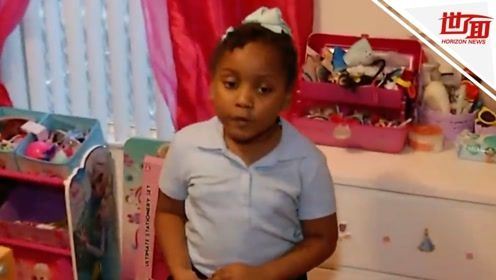 6岁美国女孩在学校踢人遭捕:被警察戴手铐送走