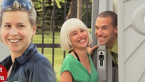帅哥进厕所换衣服,出来后摇身一变成美女!路人纷纷中招爆笑不已