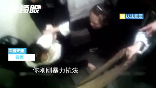 女子酒后与丈夫吵架还殴打劝架民警 一拳干过去