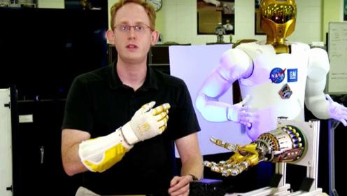 """美国宇航员研发""""机械手套"""",可用于肌肉萎缩病人,提升手部力量"""