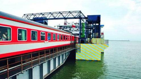 广州到海南没有跨海大桥,火车是怎么过海的?看完大开眼界了