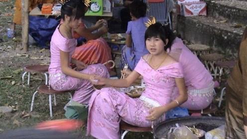 中缅边界的缅甸女孩,个个貌美如花,但是这个缺陷却让人遗憾!