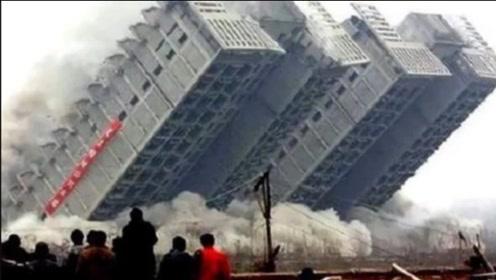 印度2天造10层高楼,自称超越了中国,举国欢庆时意外发生了