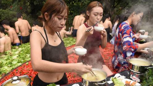 """鸳鸯锅中有没有""""鸳鸯""""?杭州鸳鸯火锅温泉,和美女一起吃美食!"""