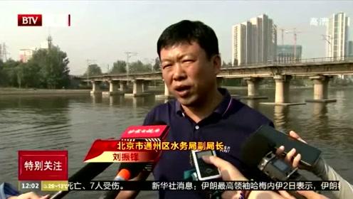 京杭大运河北京城市副中心段旅游航线正式开通