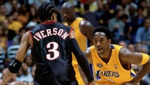 NBA五大巨星总决赛首秀 艾弗森48分打服湖人