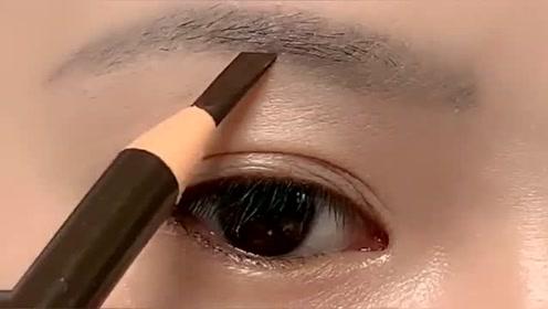 这是眉毛纹毁了吗?真的是好难遮呀,幸亏我会画