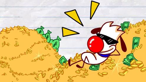 穷小子身无分文,随手喂了流浪狗后,竟逆袭成百万富翁!