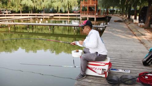 """老钓手教你钓鱼何时""""放口"""",自己放了几口后还提了一竿,结果…"""