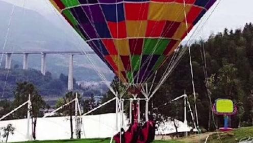 景区氢气球绳断裂,致使母子二人遇难,官方:项目违法游乐场停业