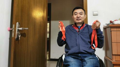 男子瘫痪16年,参加全运会荣获两枚铜牌,回家创业一年入账近千万