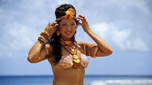 """最""""神秘""""的原始部落,牙齿是黑色,族中女性衣物用贝壳代替!"""