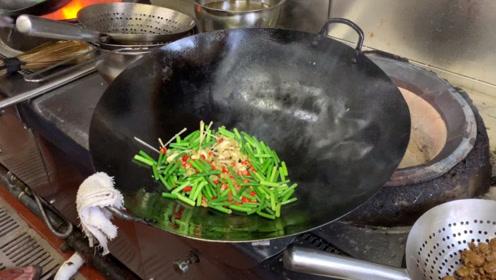 饭店的牛肉原来是这样炒的,看完大厨的操作,我再也不想吃了