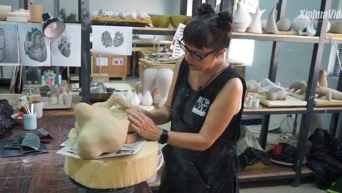 """德国艺术家甘愿来这座中国城市当""""洋漂"""" 吸引她的秘密是——"""