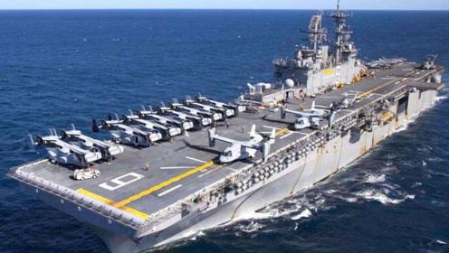 三喜临门?075型两栖攻击舰下水,055与052D也陆续下水