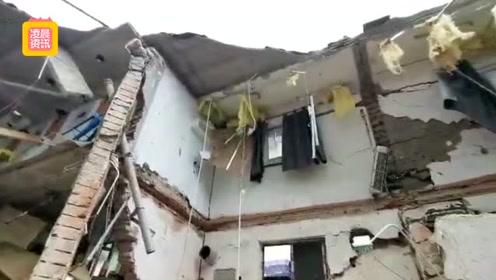 突发!南京一公寓发生坍塌 已搜索到2名被困人员
