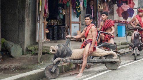 菲律宾穷人的交通工具,用木头自制摩托车,比几百万豪车还要炫酷