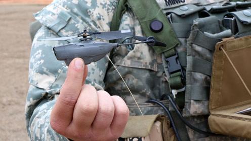 """世界上""""最小""""的直升机,手指一样大,功能强大出人意料"""
