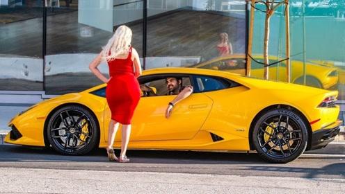 跑车对女生的吸引力有多强?口说无凭,视频为证!