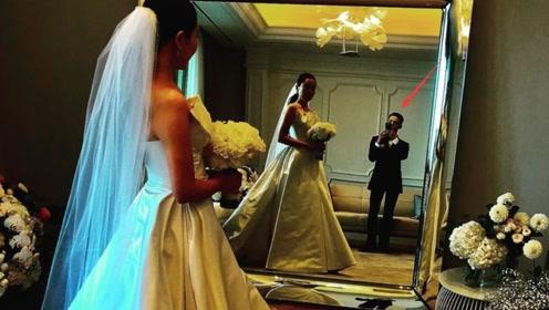 权志龙参加姐姐婚礼晒照 后台为新娘拍照画面温馨
