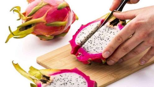 火龙果试试这么切,太漂亮了,好看好吃不脏手,客人见了夸不停