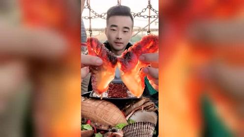 美食吃播:海中美味,海蜇爪