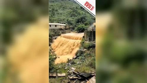 云南双江遭遇强降雨道路塌方 官方:无伤亡 现交通已恢复