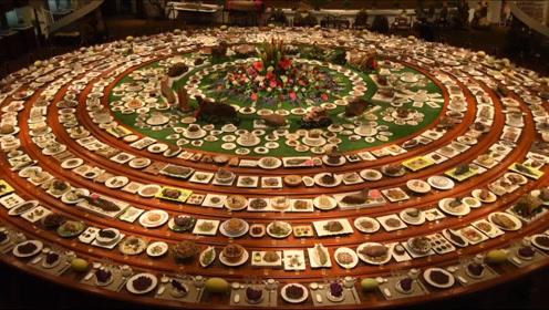 """这桌满汉全席值6.8亿!1088道菜吃着还""""硌牙"""""""