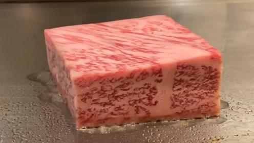 太奢侈了!日本国宝级的和牛牛肉你吃过吗?一小块就顶几个月工资