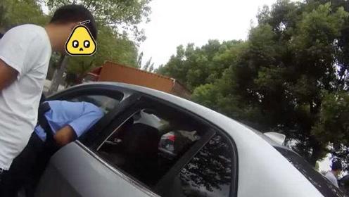 男子因盗窃取保候审,出来一夜间又砸25辆车
