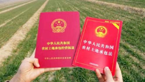 国家新土地法定了!新规明年1月实施,农村土地将发生三大变化!