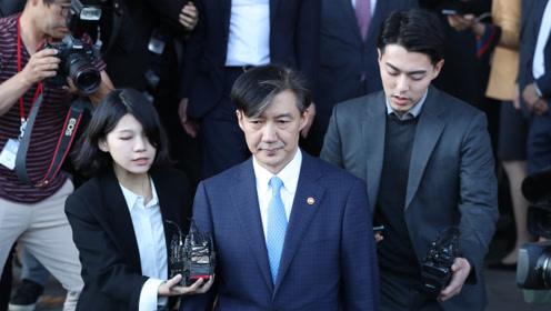 韩法务部长官为何刚上任就辞职? 就任仅35天
