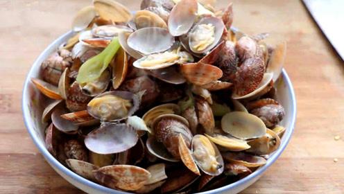 辣炒蛤蜊最好的做法,不用放一点盐,做出来简直太好吃了