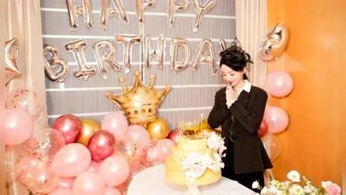 赵丽颖32岁生日,冯绍峰遗憾未现身,鲜花簇拥场面温馨让人羡慕