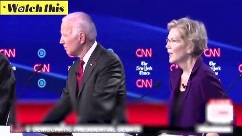 民主党候选人新一轮辩论开始 前副总统拜登:我是台上唯一有所作为的