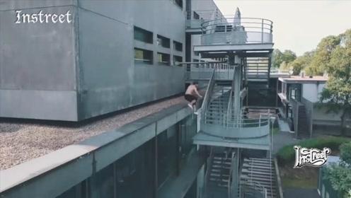对跑酷玩家来讲,楼梯是什么,不知道