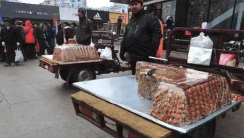 为什么大街上卖新疆切糕的人,现在都不见了?今天可算知道了