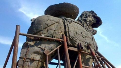 中国最悲催的文物?屹立千年面临解体危机,国家重点保护