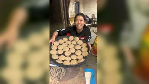 云南人做的搓搓粉,据说很香,你有食欲吗?