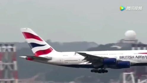 繁忙的香港机场,实拍各种飞机起降,看着真过瘾