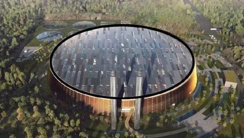 最大的垃圾发电站,每天将5000吨垃圾回收,3天就清空一个深圳市